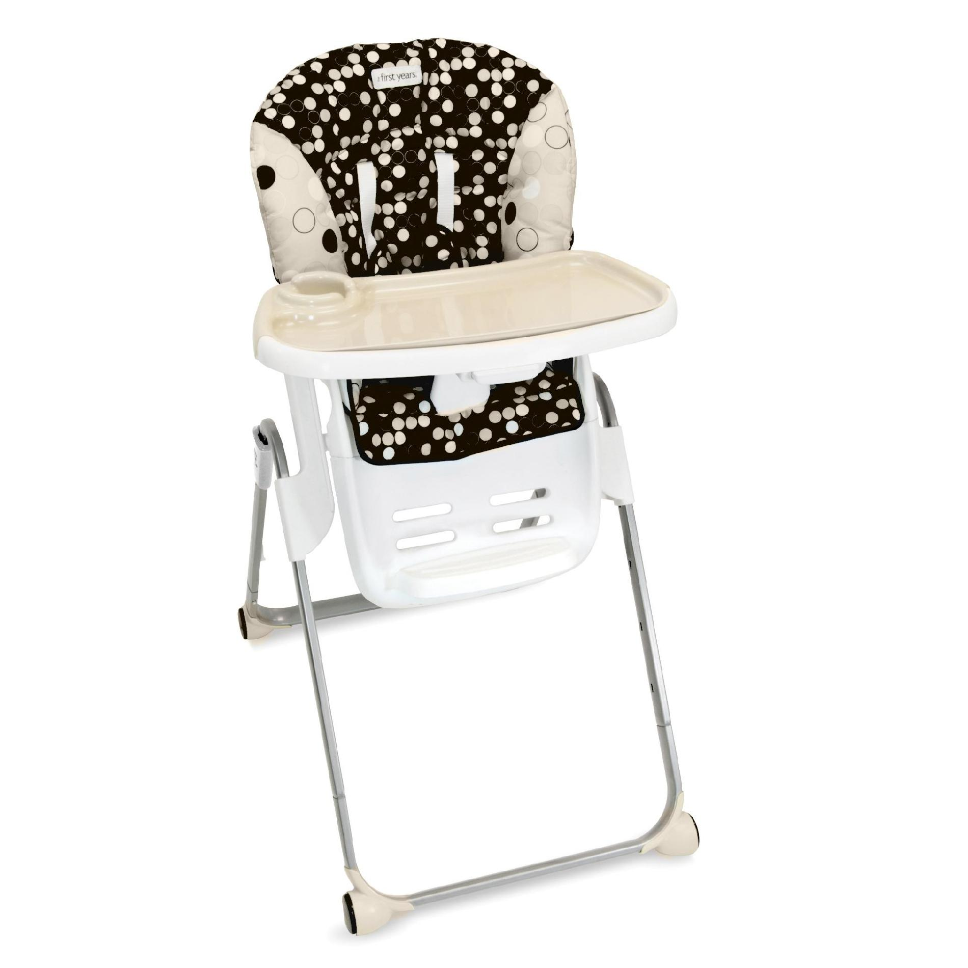 cosco high chair cover black leather back dining chairs tomy the first years family time