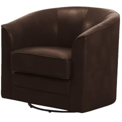 Tub Accent Chair Wooden Rocking Cushion Set Plush Coffee Brown Recliner Enjoy Ultra Comfort With Sears