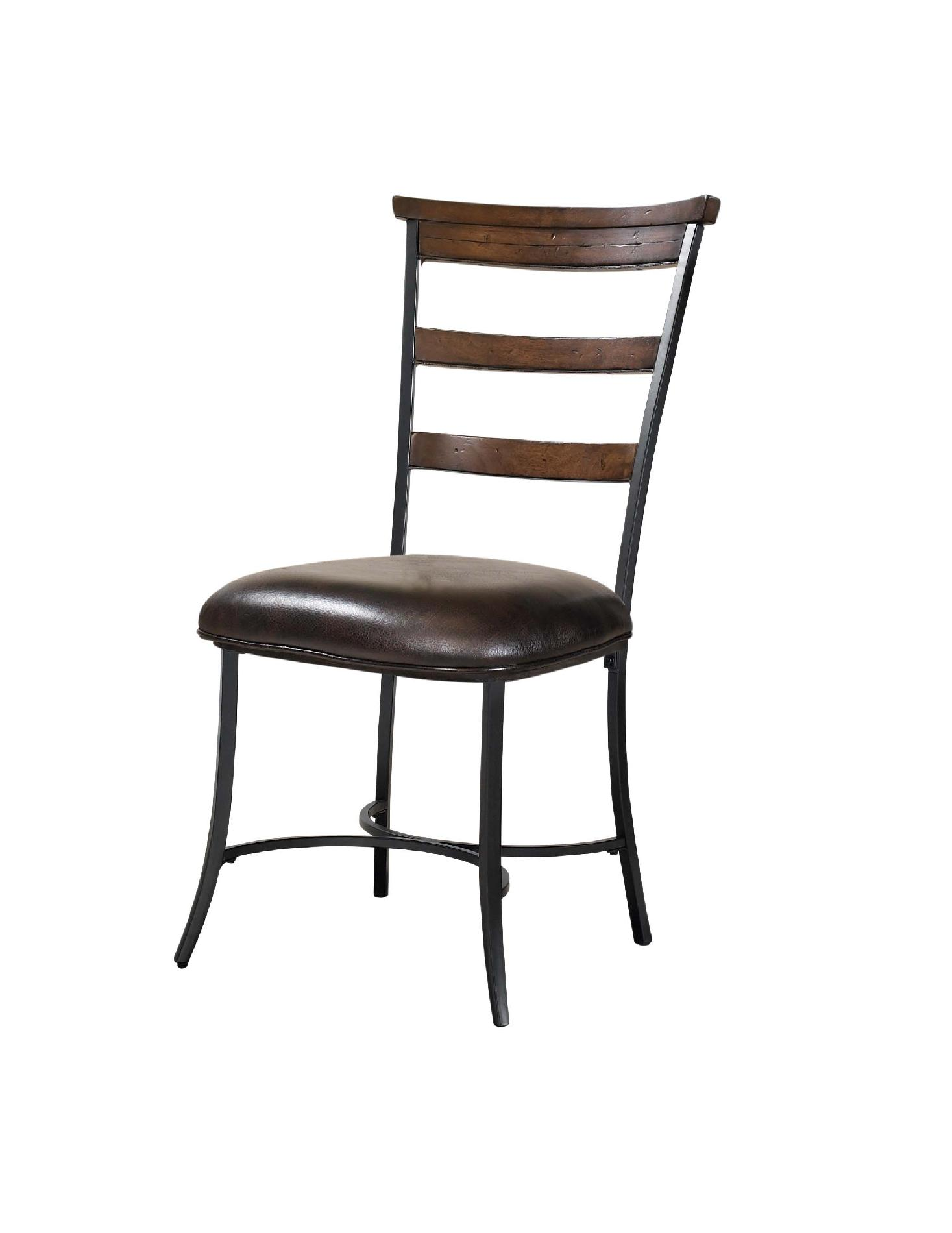 ladder back dining room chairs container store office chair hillsdale brown and gray cameron