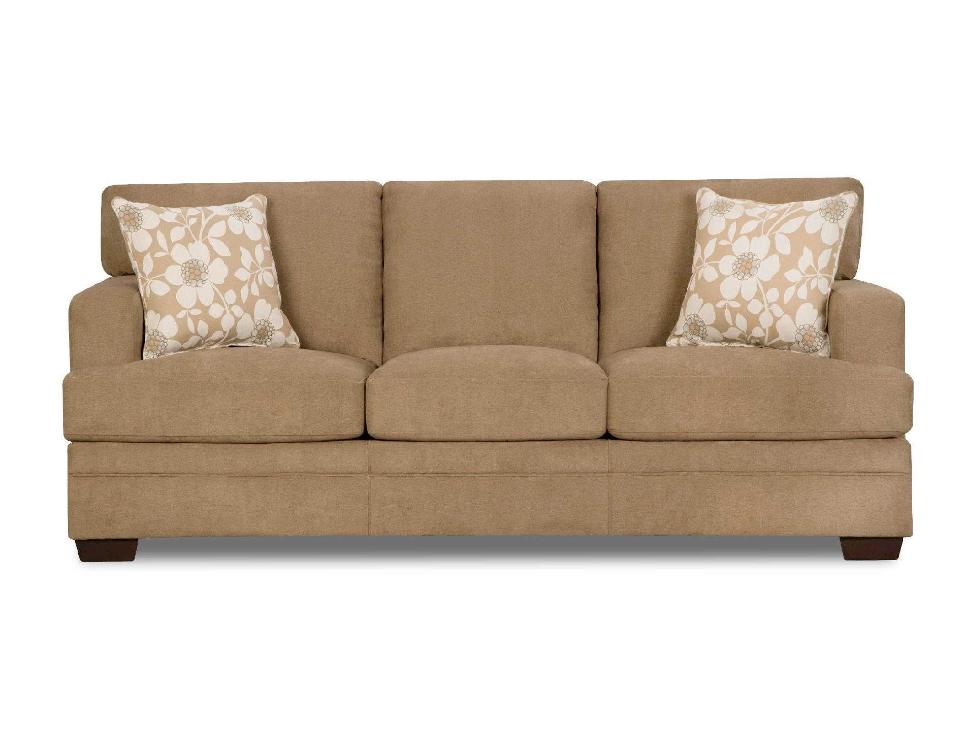 Simmons CHICKLET Sofa