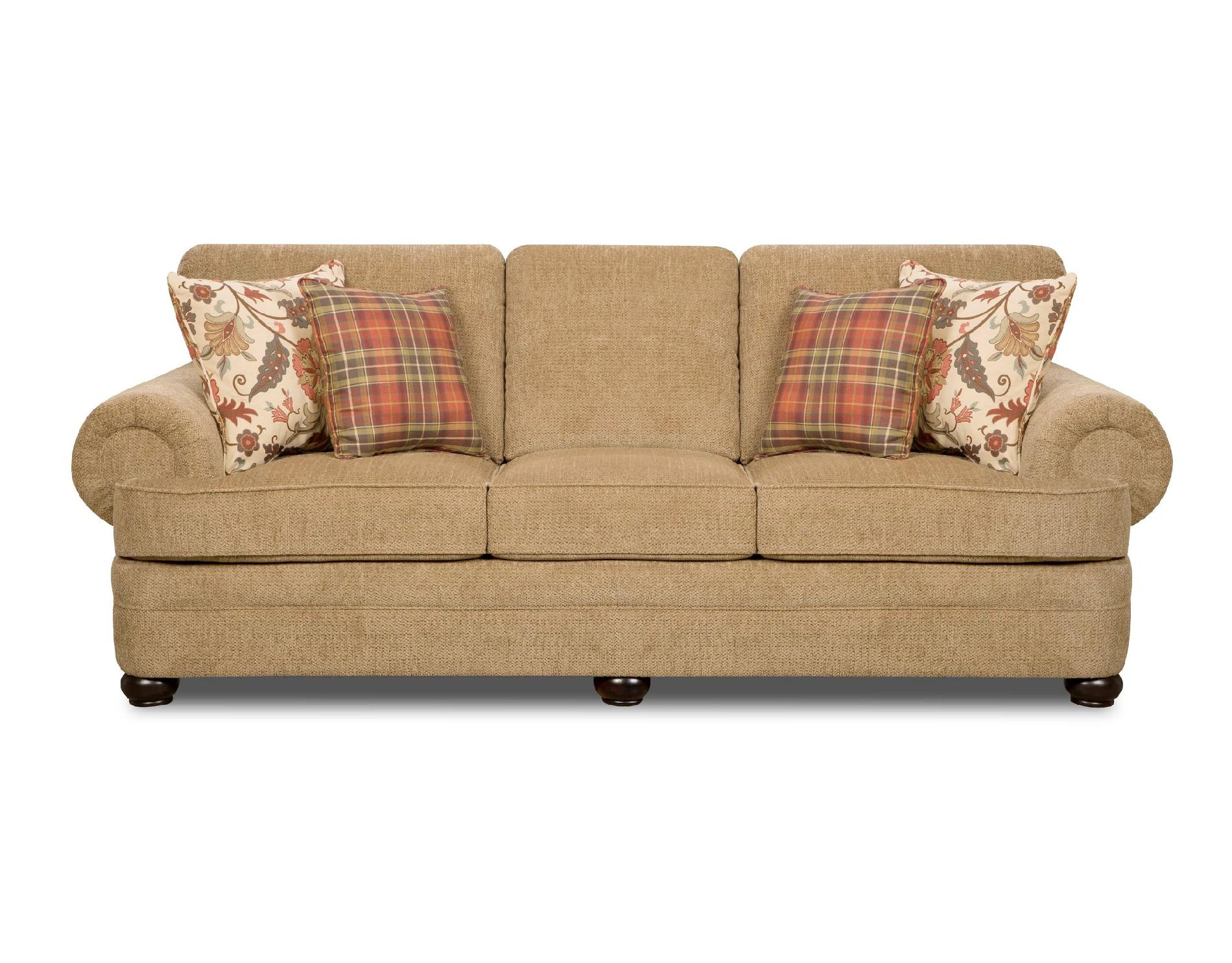tan sofa and loveseat red bed simmons thunder traditional shop your way
