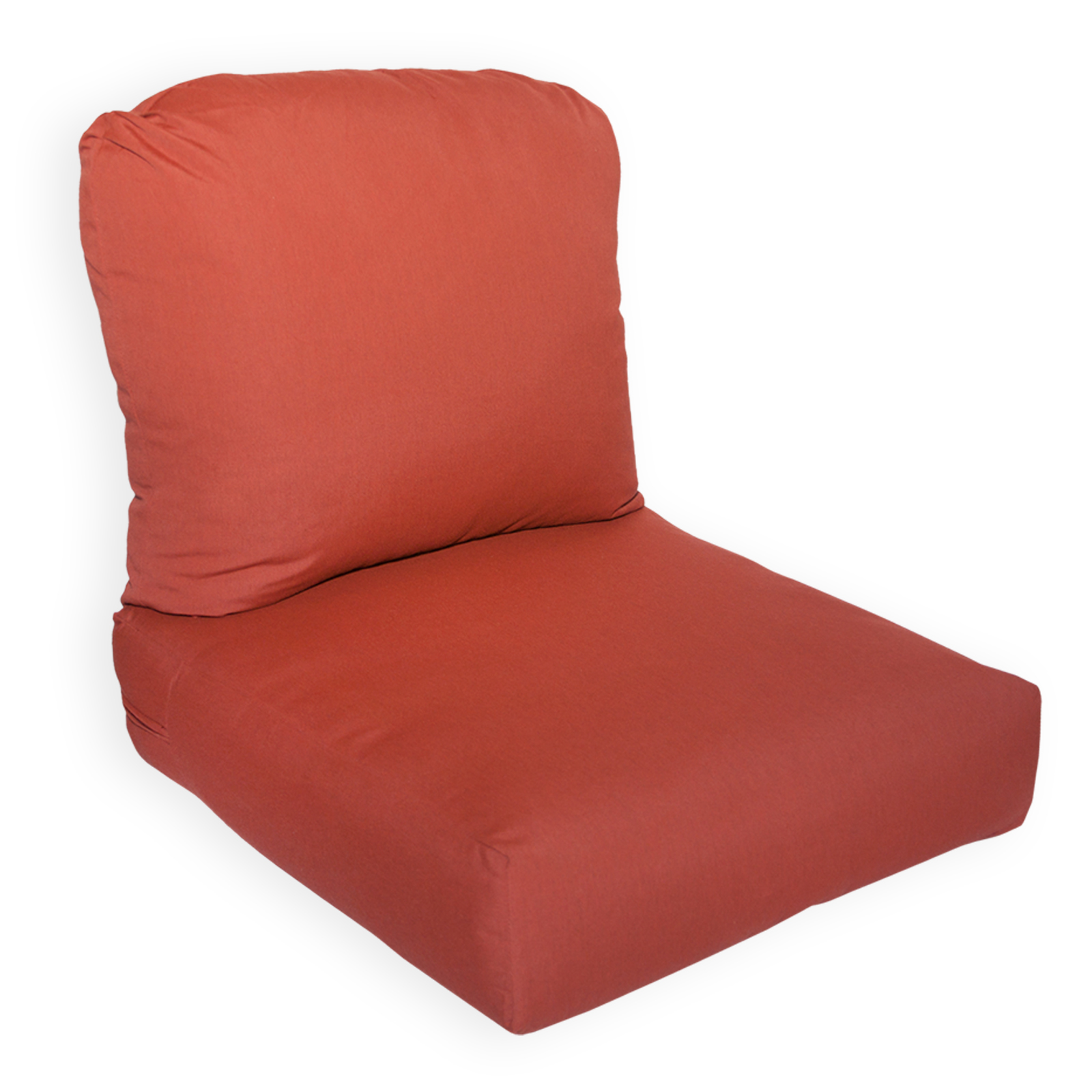 sunbrella chair cushion ergonomic quebec deluxe deep seating available in