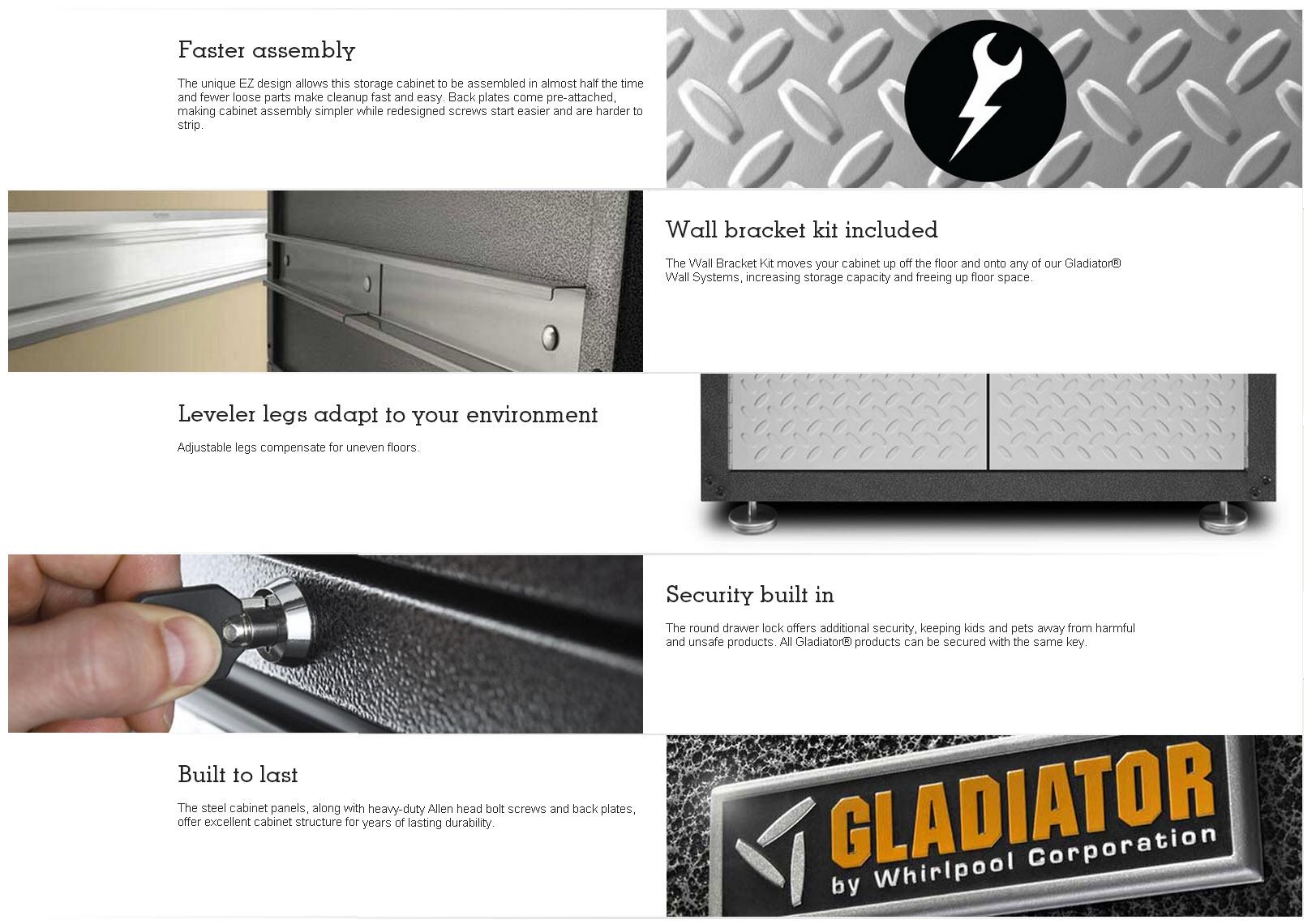 Gladiator Jumbo GearBox Pro Tool Storage from Sears