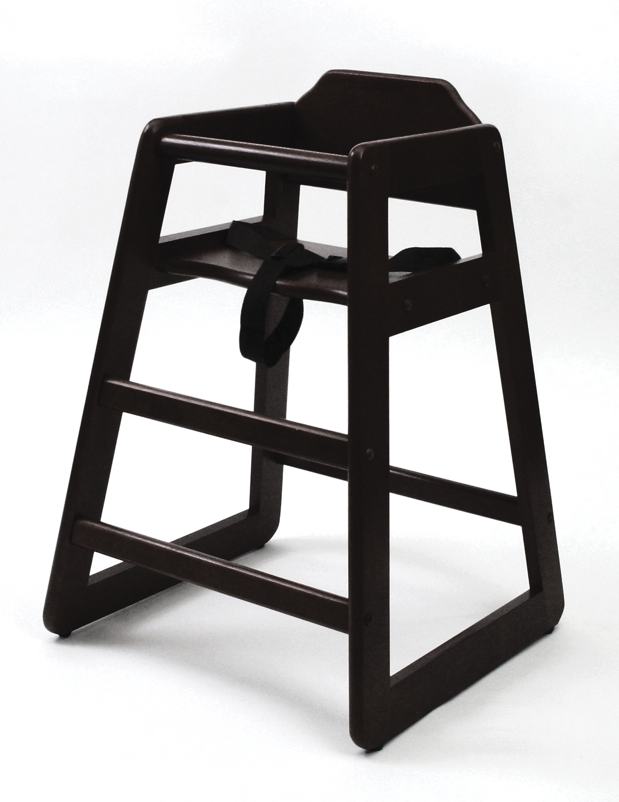 dining chair booster seat kmart office mat lipper international child 39s high espresso
