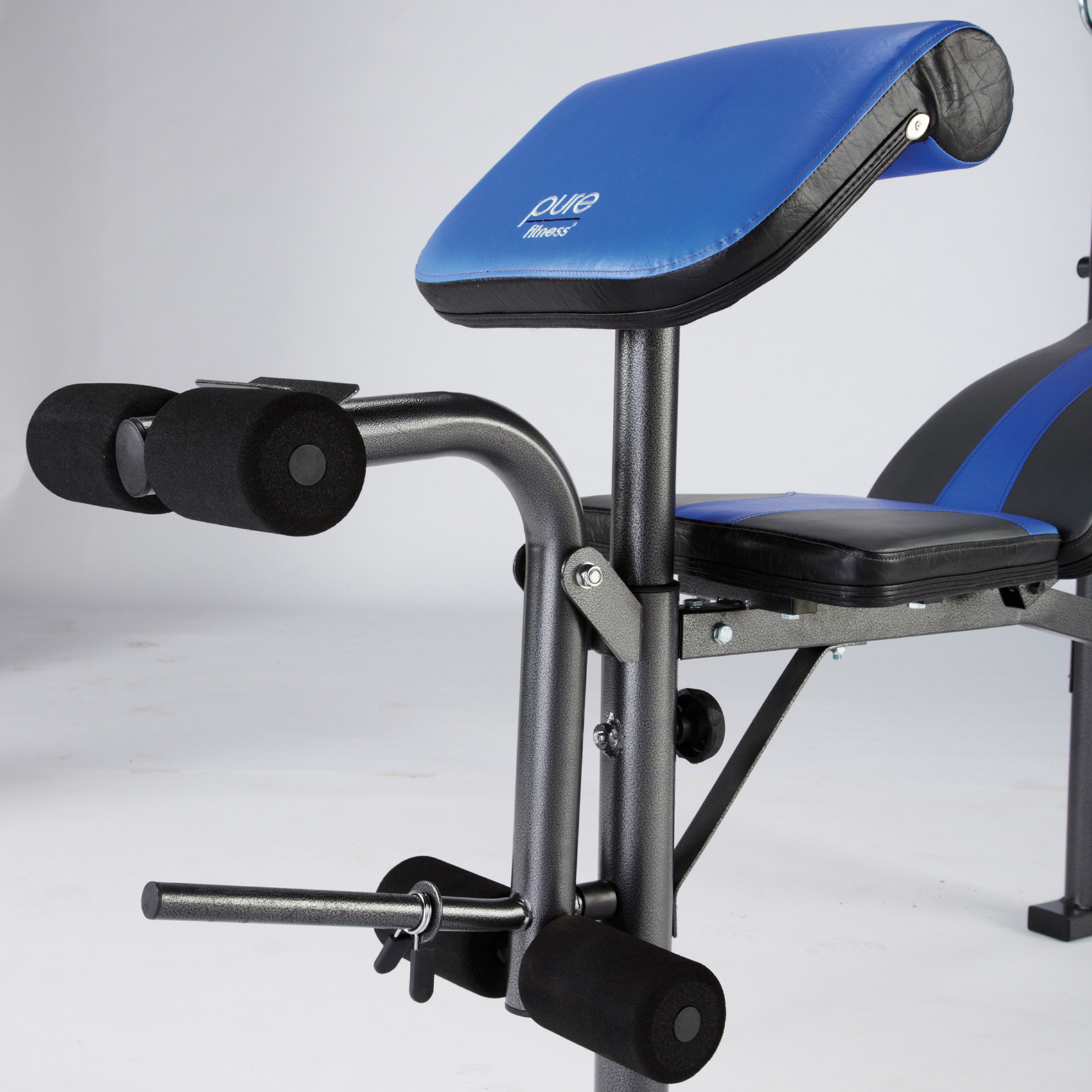 Pure Fitness Multi Purpose Mid Width Weight Bench