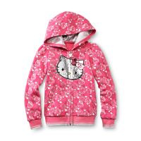 Hello Kitty Toddler Girl's Sequin Fleece Hoodie