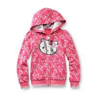Hello Kitty Toddler Girl's Sequin Fleece Hoodie