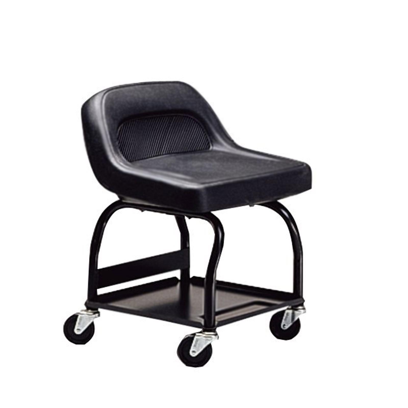 garage chairs rolling unique bean bag craftsman creeper seat mechanics high rise