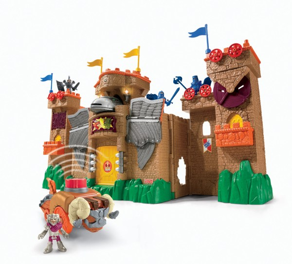 Imaginext Castle Wizard Tower Fisher - Toys