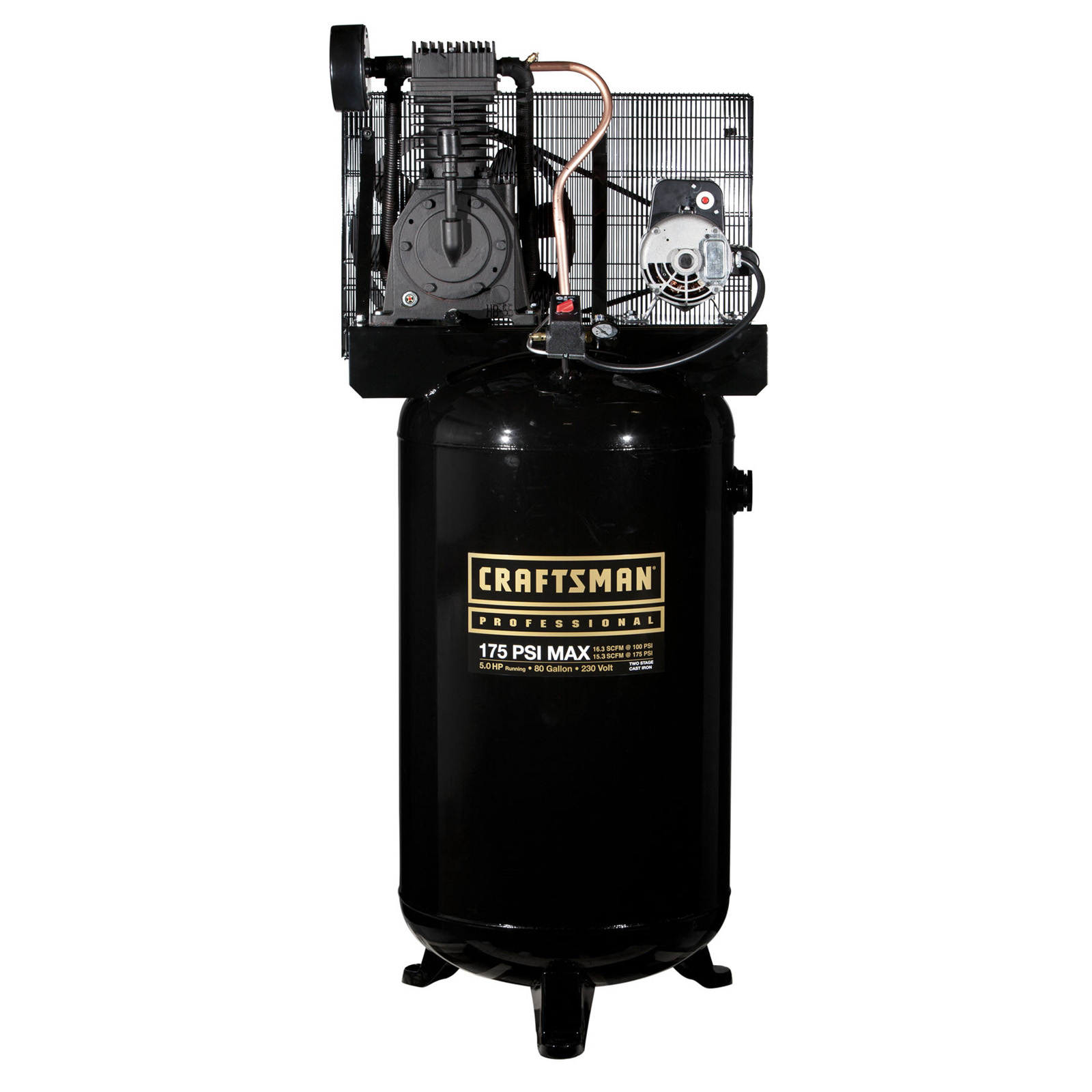 Craftsman Professional 80 Gallon 5 Rhp Oil-lubricated