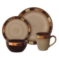 Gibson Convergence 16 pc Dinnerware Set