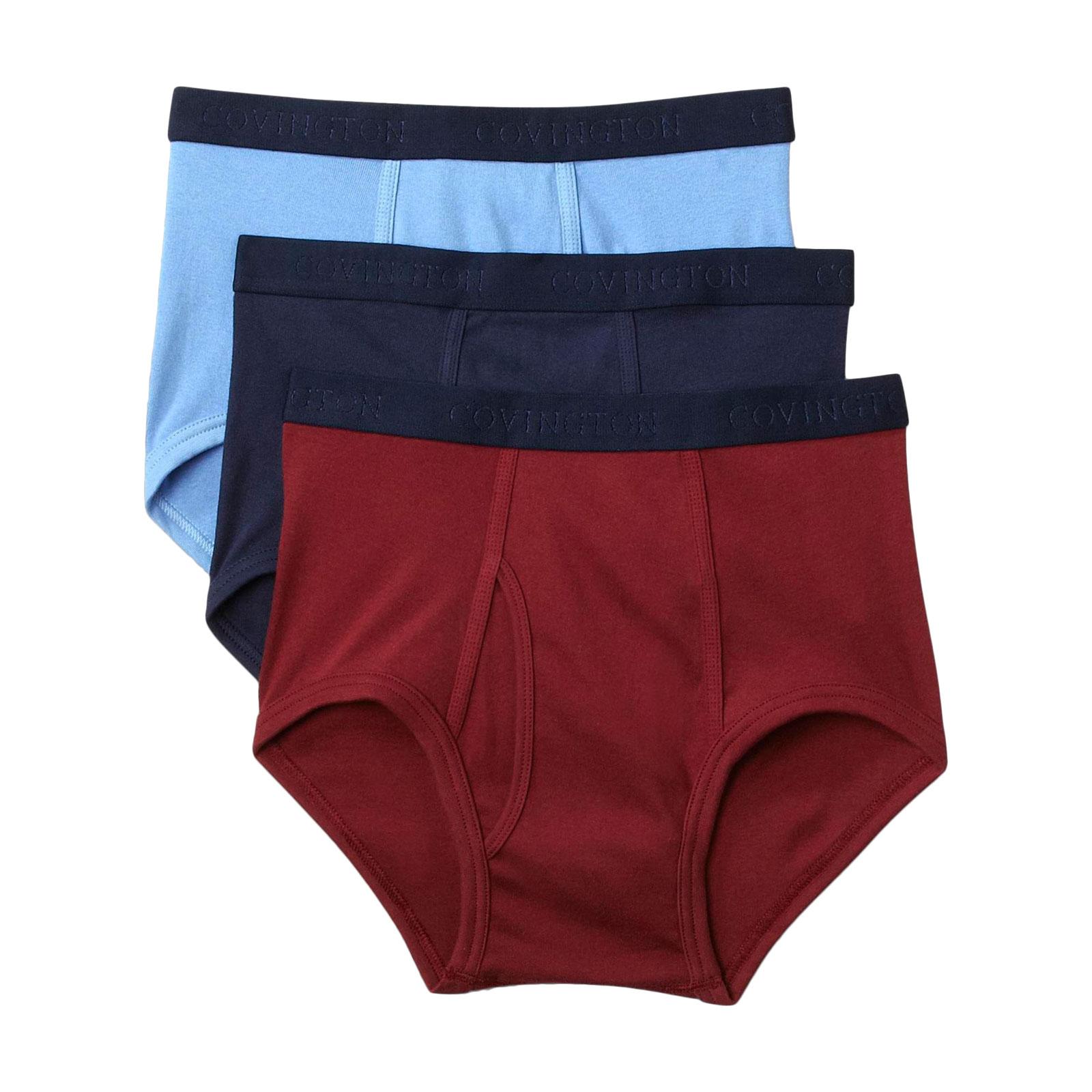 Covington Men' Briefs - 3 Pack Clothing Underwear & Undershirts