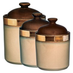 Decorative Kitchen Canisters Sets Bronze Pendant Lighting Coffee Themed Canister Best Home Decoration