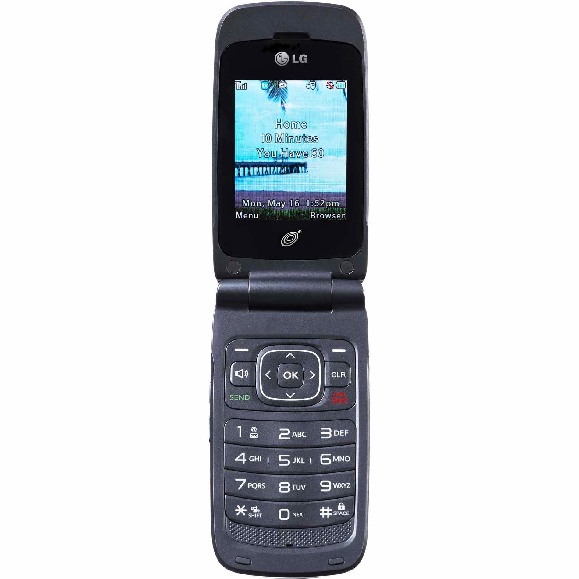 Net10 Lg 221c Cdma Pre-paid Mobile Phone - Tvs & Electronics Cell Phones