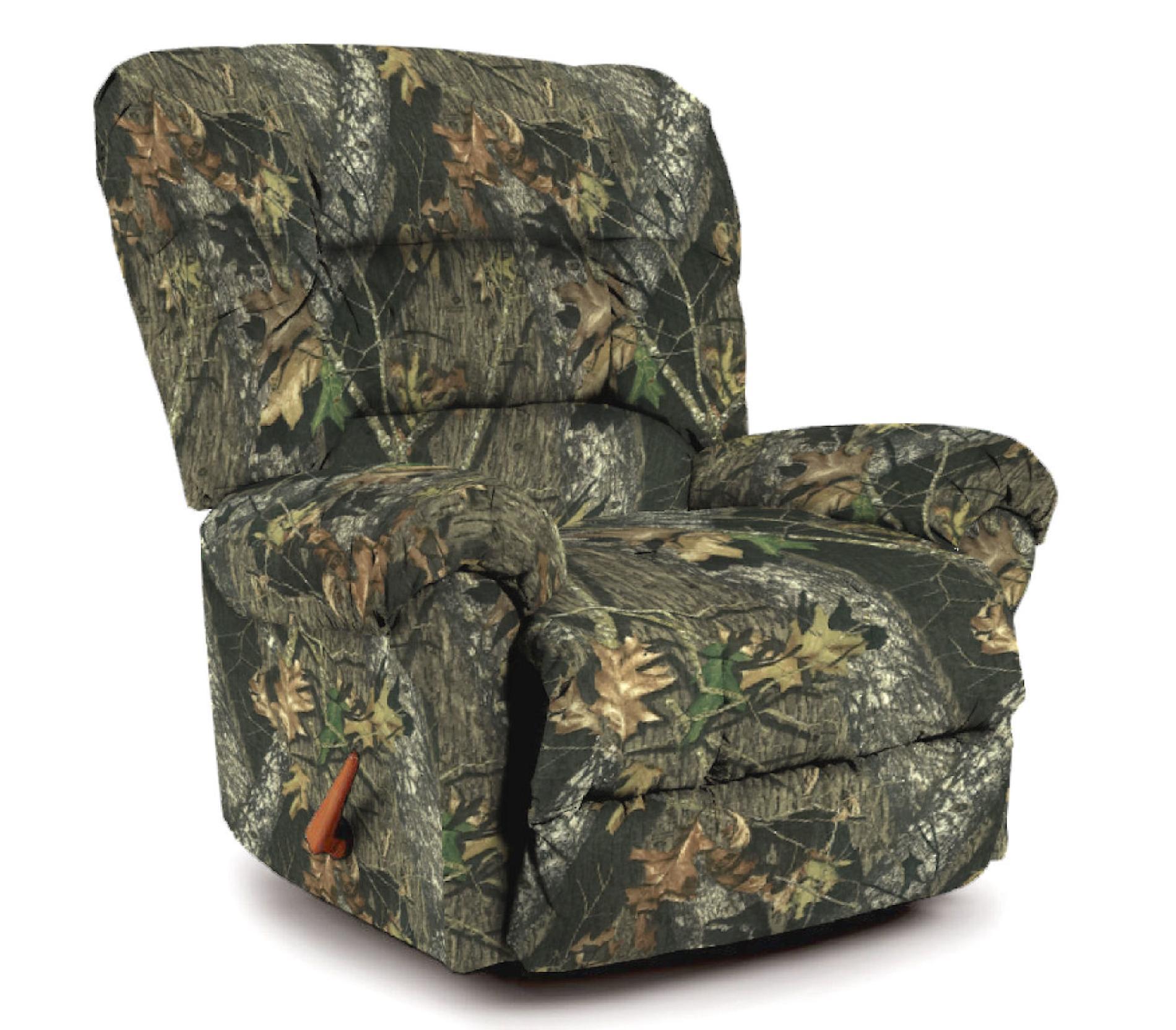 Best Furniture Monroe Camo Rocker Recliner Multi  56999