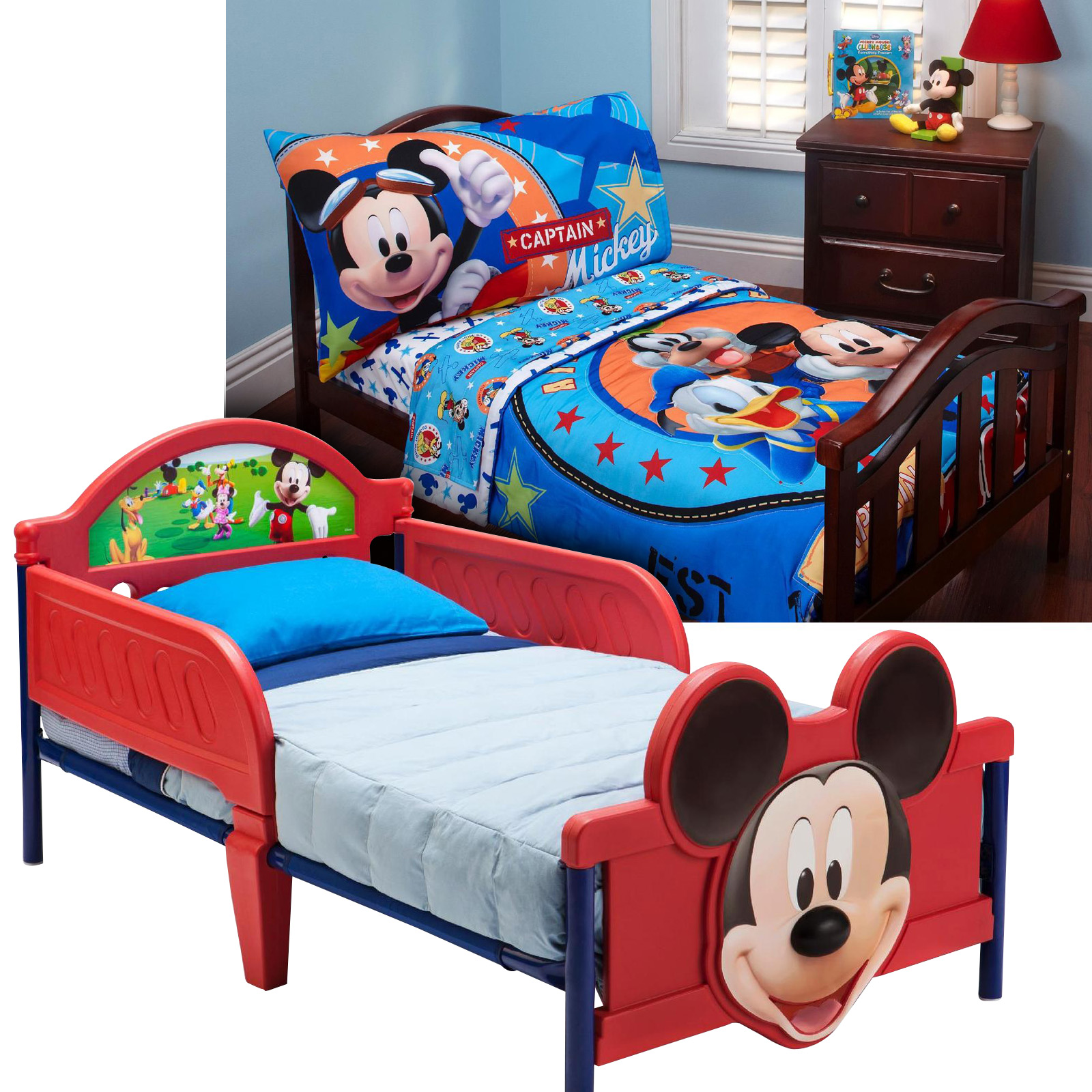 mickey mouse clubhouse table and chair set office mesh furniture toddlers  roselawnlutheran
