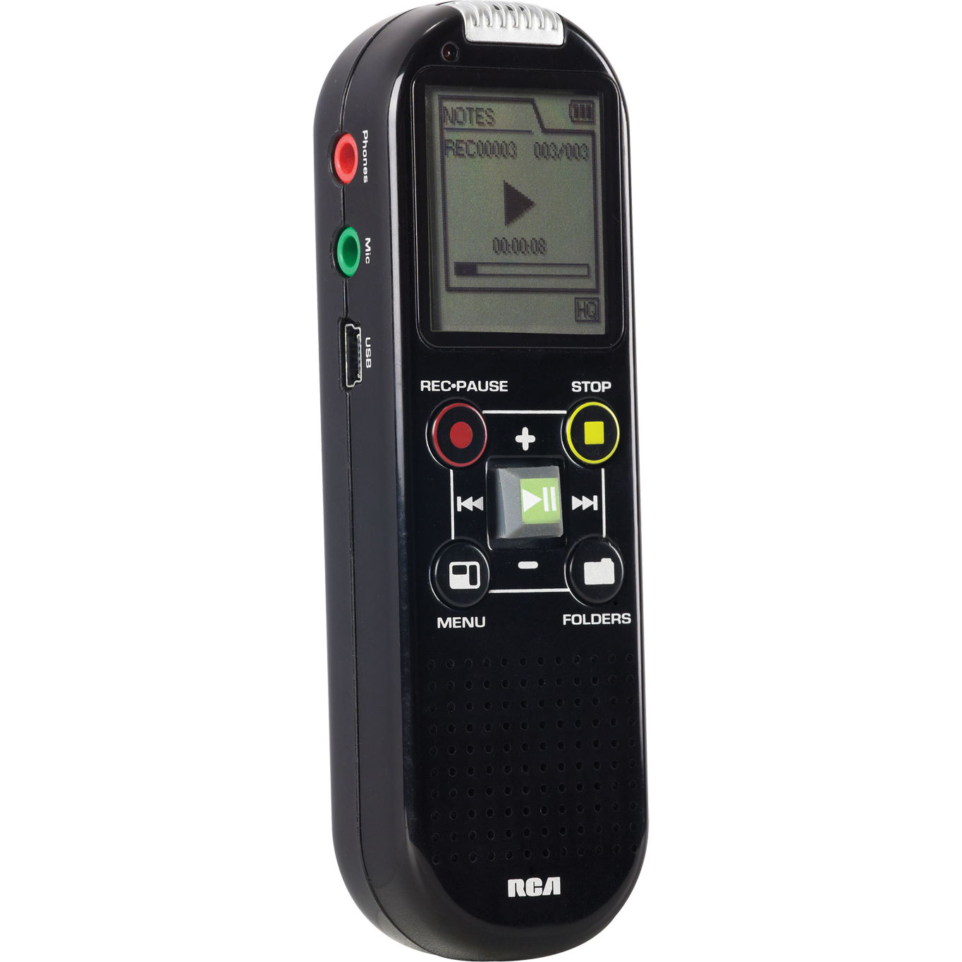 Rca Vr6320 Digital Voice Recorder 2gb