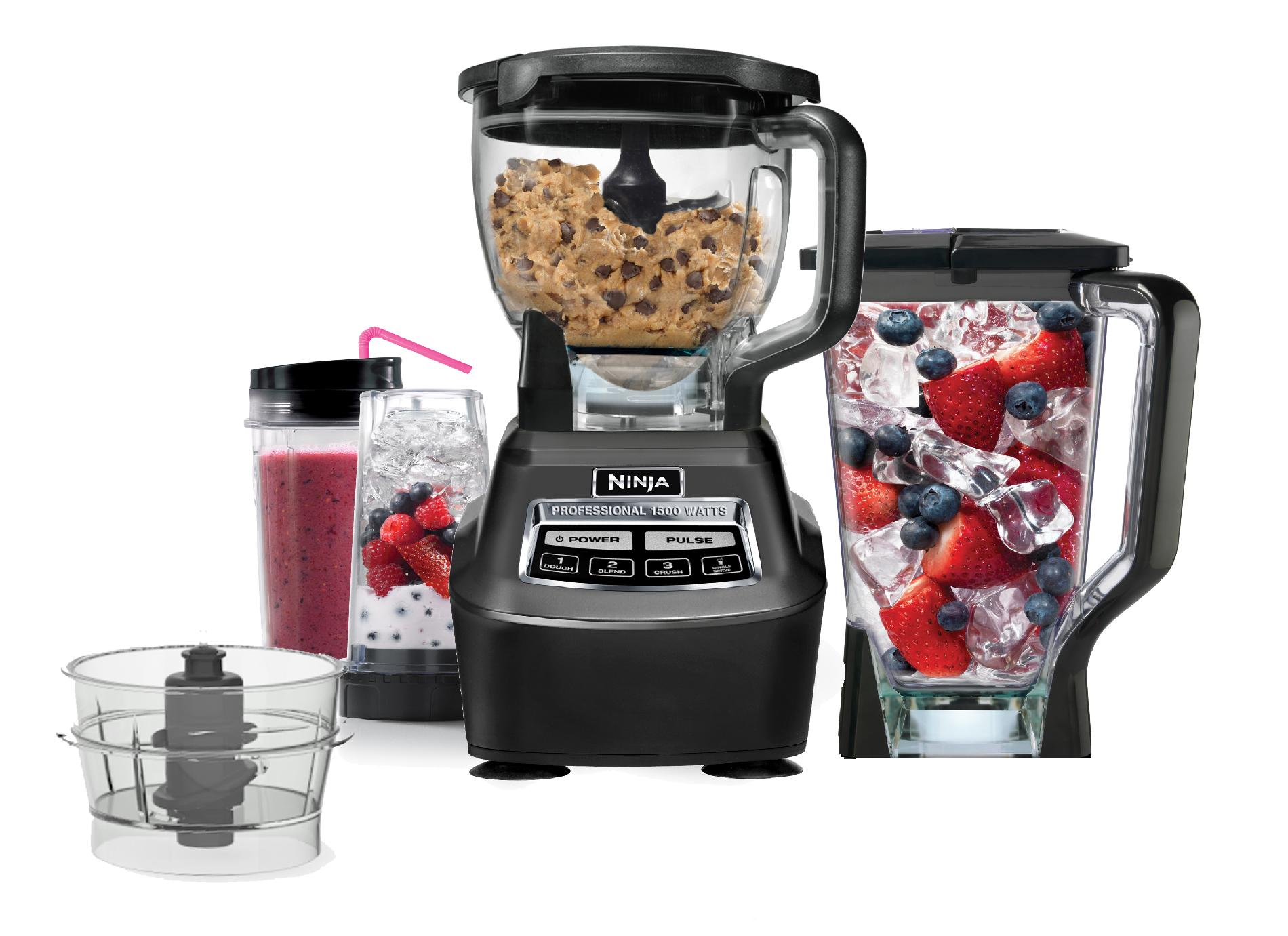 ninja complete kitchen system table with bench set food drink mixer get the power to prep at sears