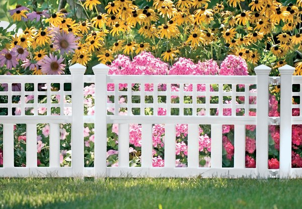 "Suncast 32"" Grand View Fence Edging - Lawn & Garden"
