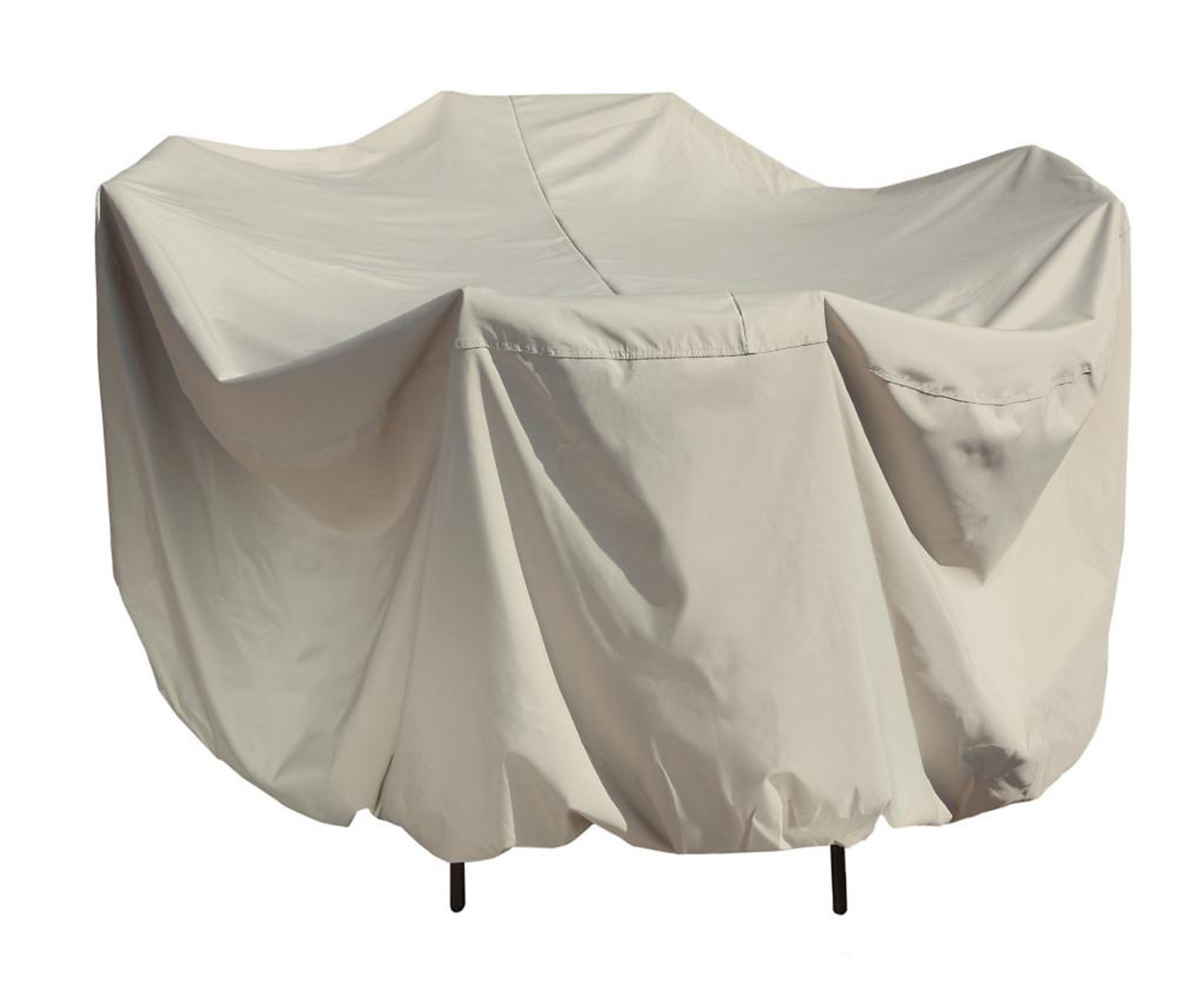 your chair covers inc coupon code white wicker rocking uk island umbrella winter cover for 54 quot round patio table