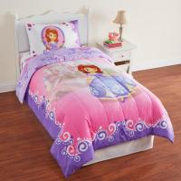 Disney Sofia the First Girl's Microfiber Twin Comforter