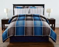 Colormate Complete Bed Set - Cooper Plaid
