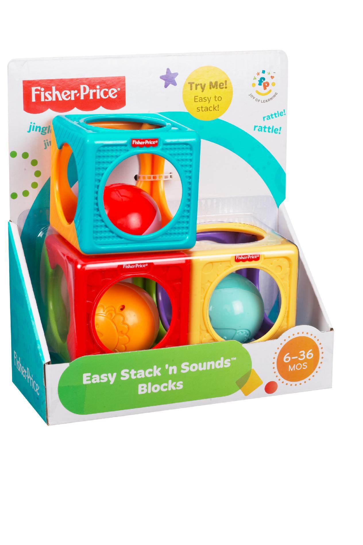 FisherPrice Easy Stack n Sounds Blocks  Toys  Games