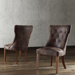 Suede Dining Table Chairs Seating Area With 4 Oxford Creek Arlene Traditional French Burnished Brown Oak