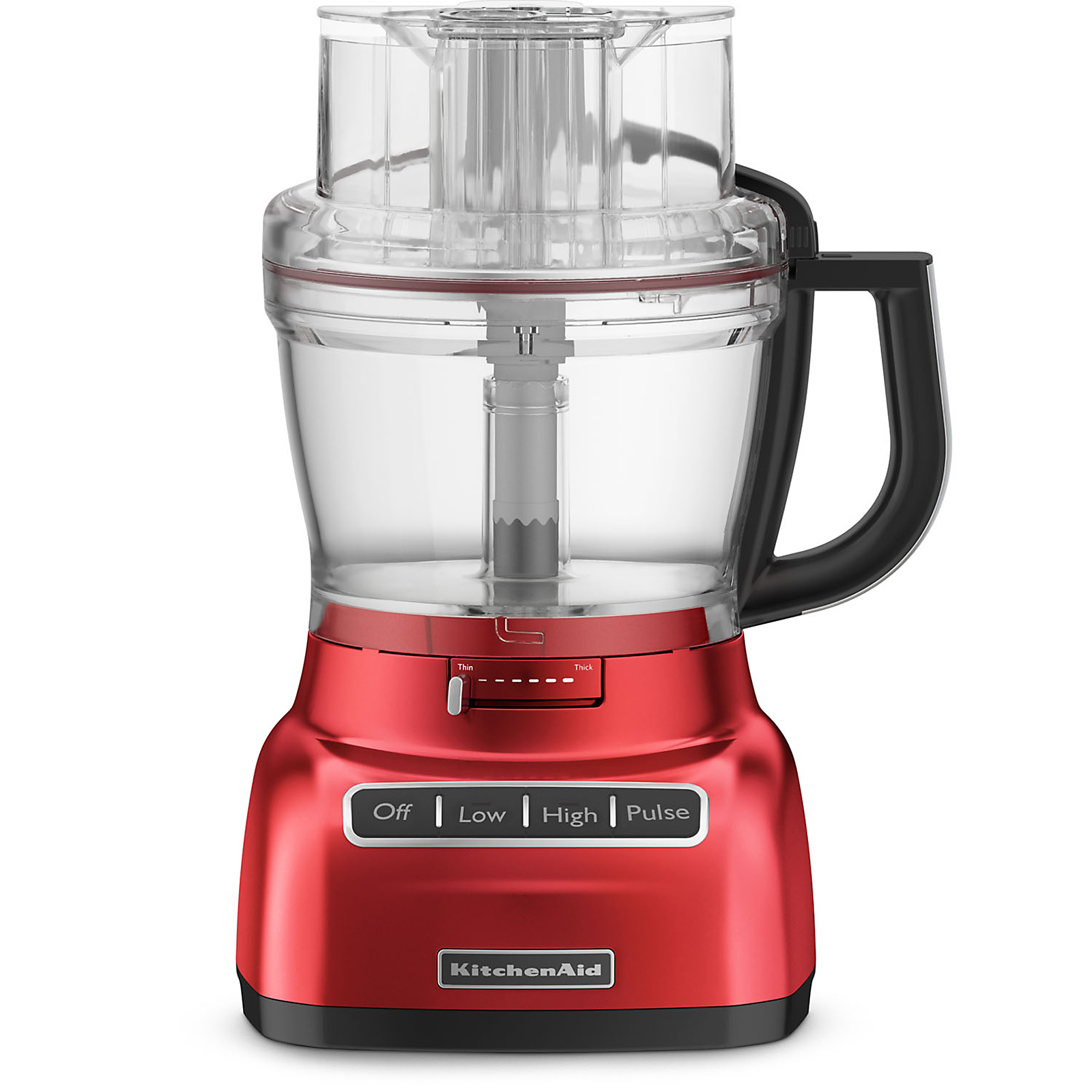 Kitchenaid Kfp1333er 13-cup Food Processor Empire Red