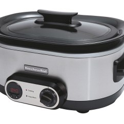 Kitchen Aid Slow Cooker Small Storage Solutions Kitchenaid Problems