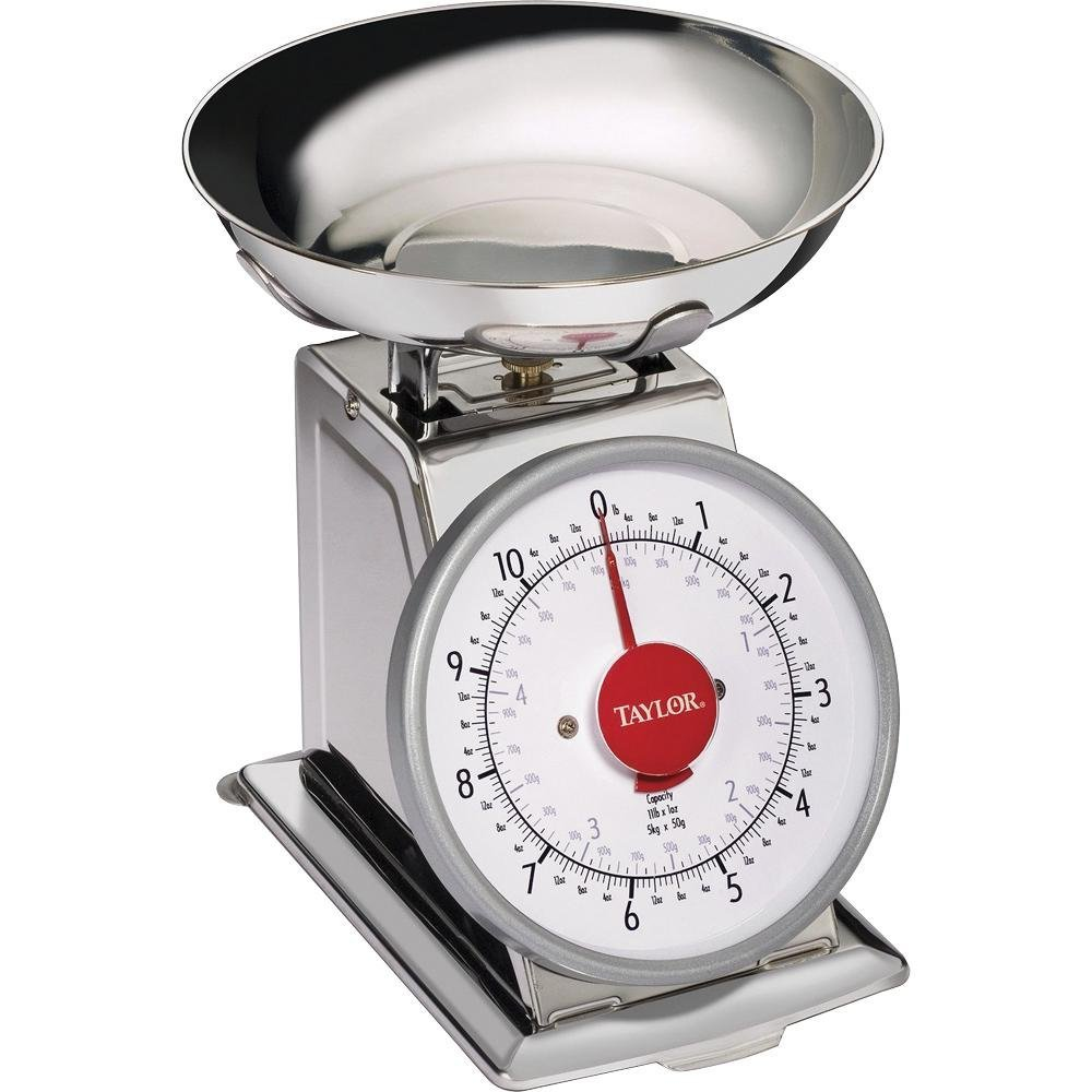 Taylor Retro Stainless Steel Kitchen Scale Home Kitchen Food Prep Amp Gadgets Food Scales