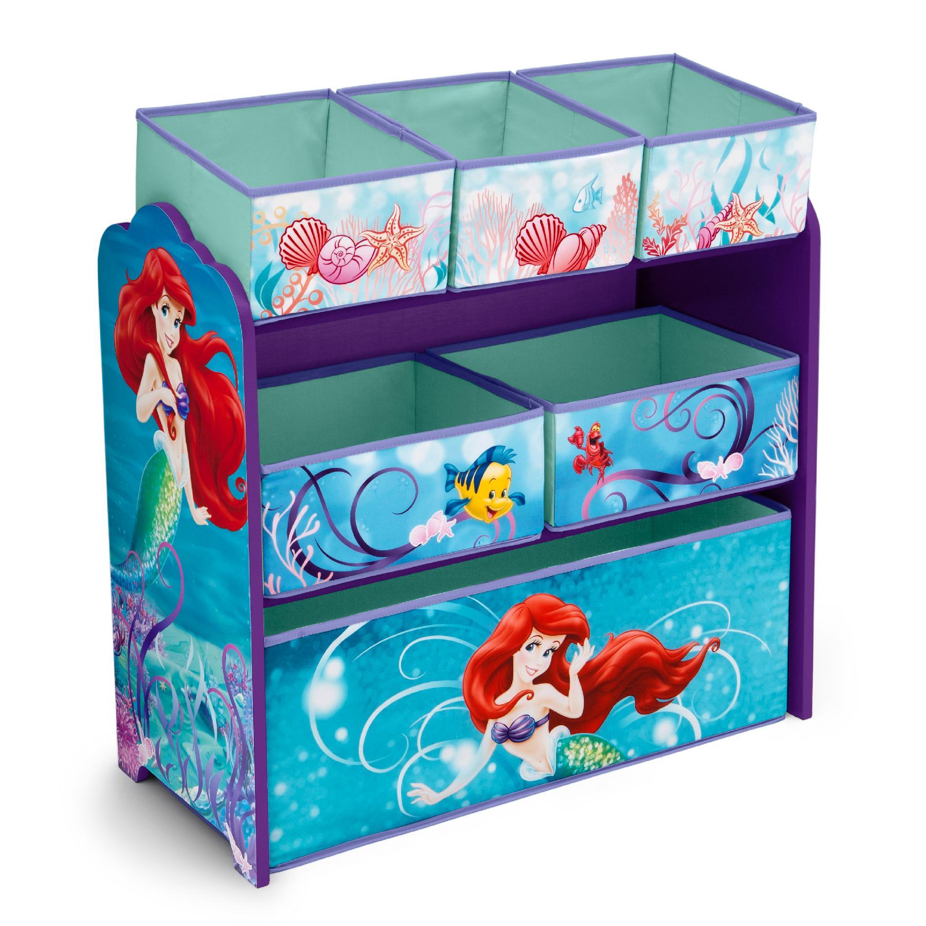 Disney Little Mermaid Multi Bin Toy Organizer Baby