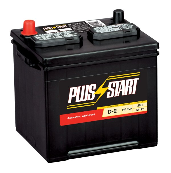Start Automotive Battery - Group Size Jc-26r With Exchange Online