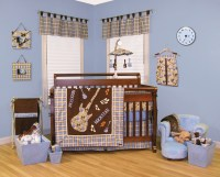 Trend Lab Rockstar - 3 Piece Crib Bedding Set