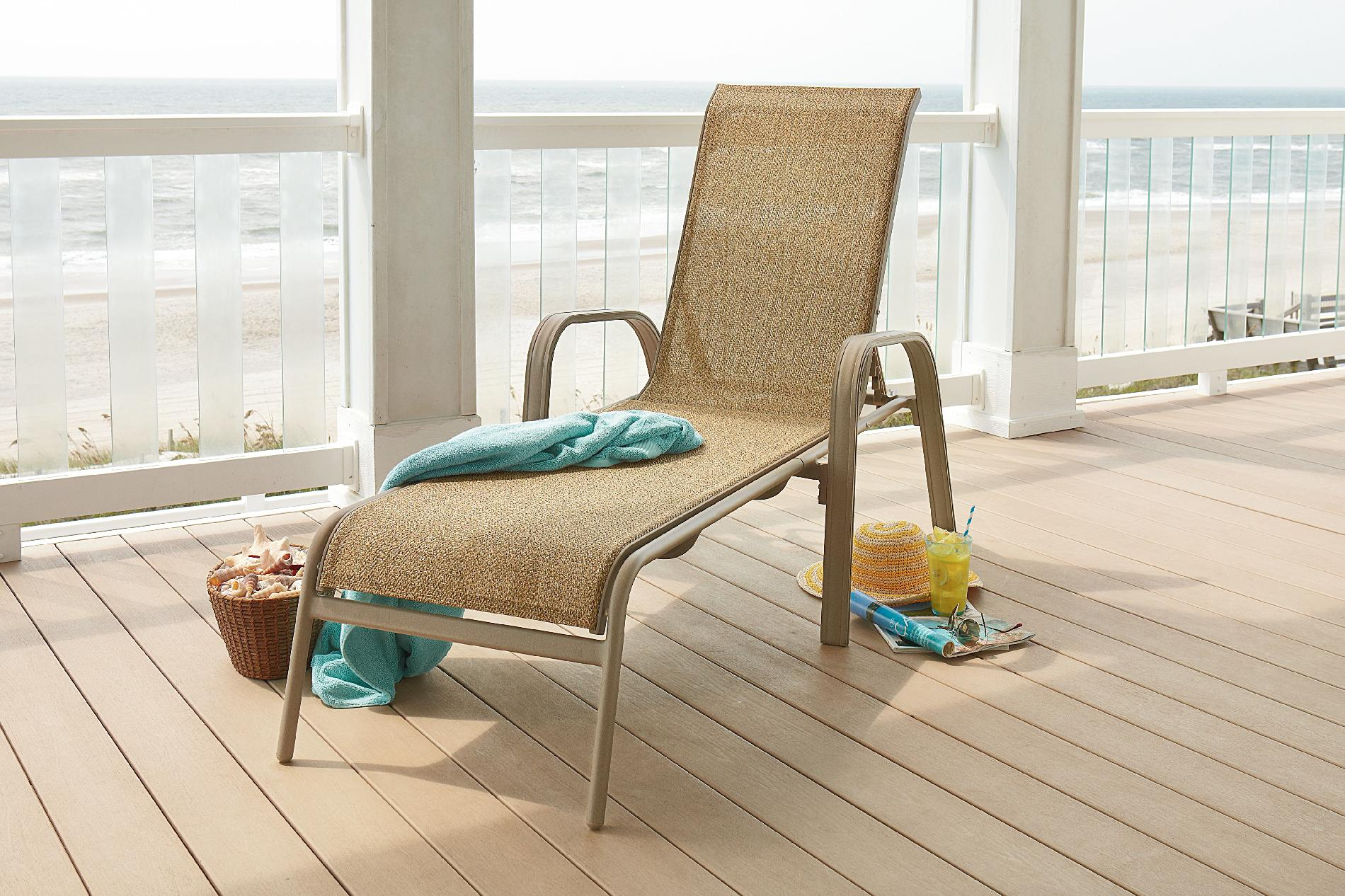 Long Beach Chair Garden Oasis Long Beach Sling Chaise Lounge Limited