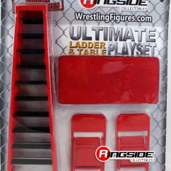 Steel Chair In Wrestling Electric Execution Video Wwe Ultimate Ladder And Table Play Set Red Ringside