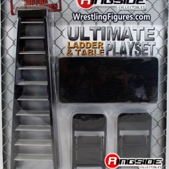 Wrestling Chairs For Sale Lift Recliner Reviews Wwe Ultimate Ladder And Table Playset Black Ringside