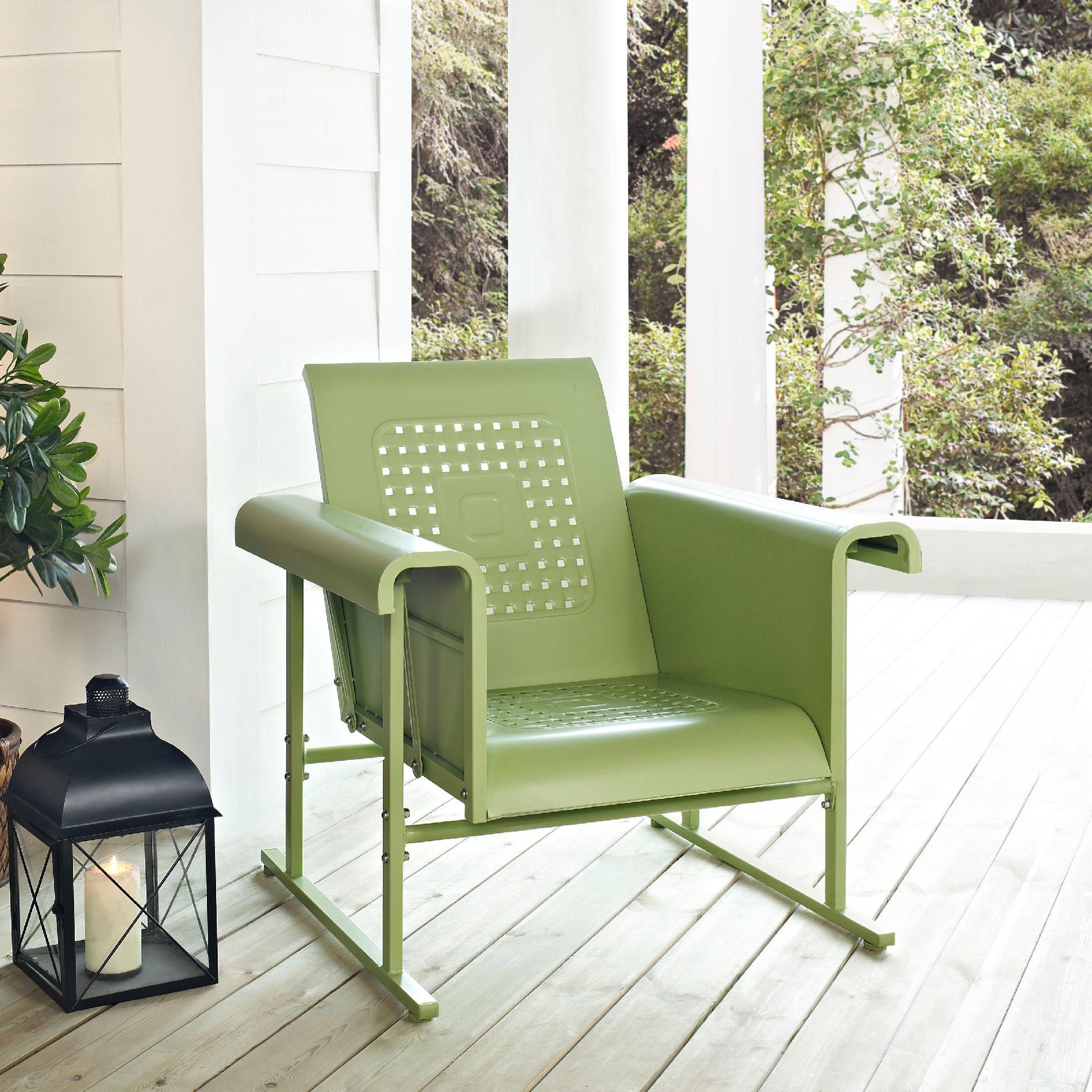 Crosley Outdoor Veranda Single Glider Chair In Assorted Colors