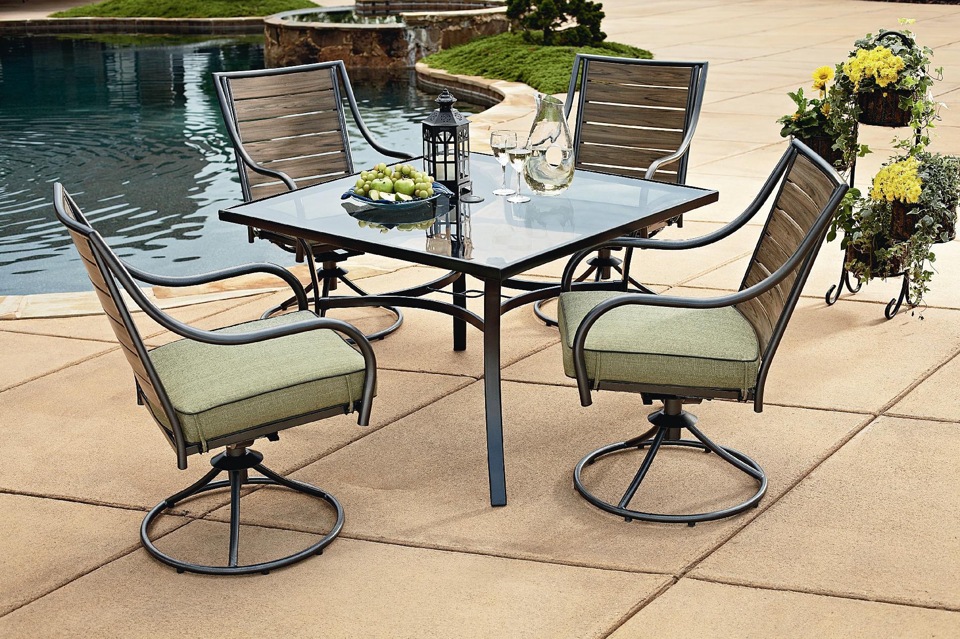Garden Oasis - S13s4162r Brooks 5pc Patio Dining Set