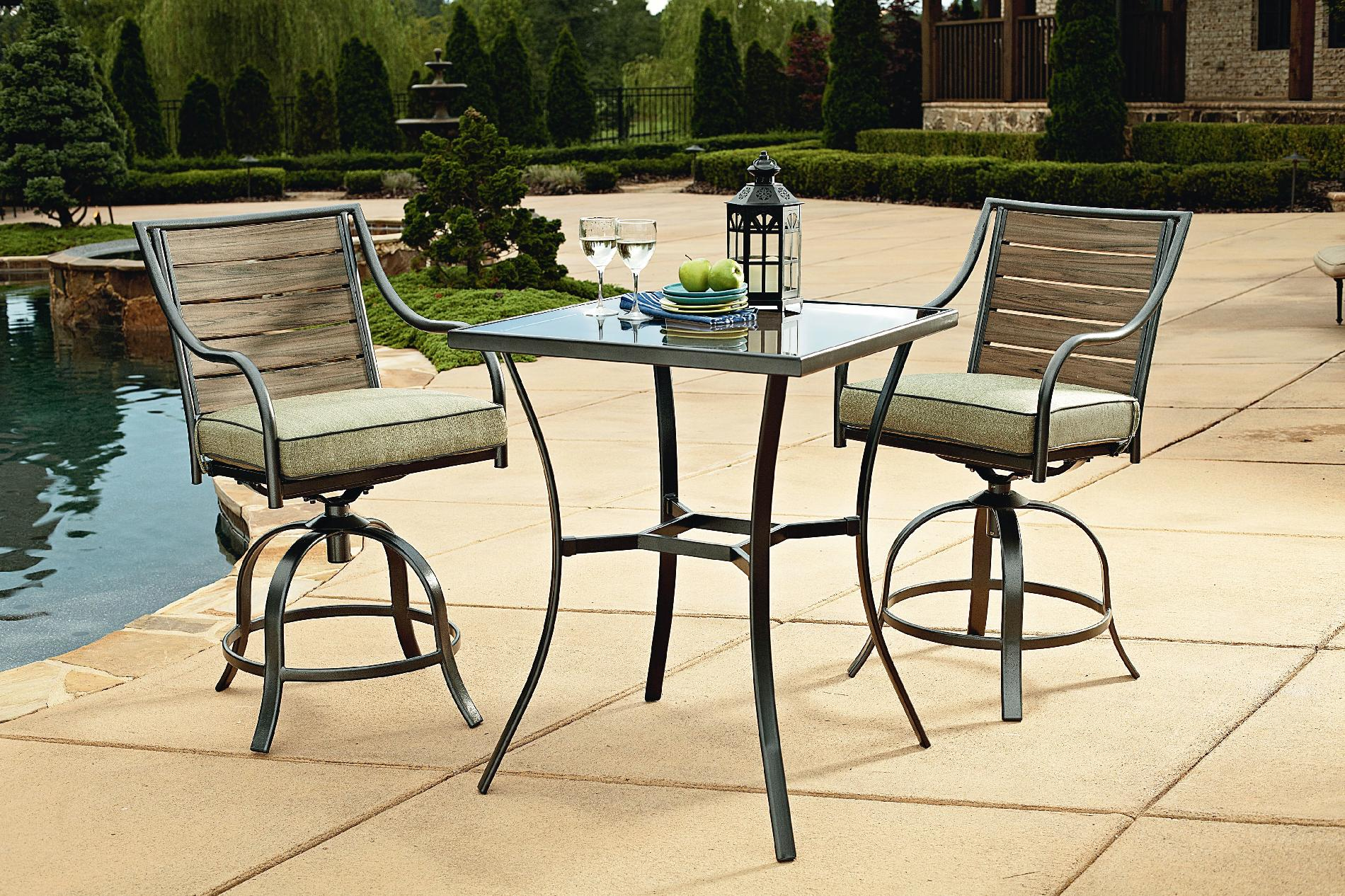 Garden Oasis Brooks 3 Piece Tall Bistro Limited Availability