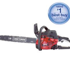 craftsman 42cc 2 cycle 18 gas chainsaw with case [ 1900 x 1900 Pixel ]