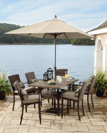 Grand Resort River Oak 7pc High Dining - Patio