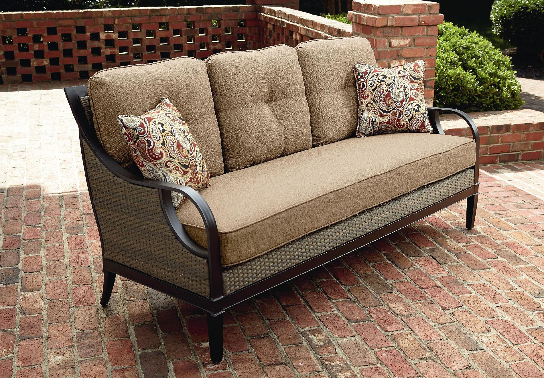 outdoor sofa furniture flexsteel sleepers replacement cushions