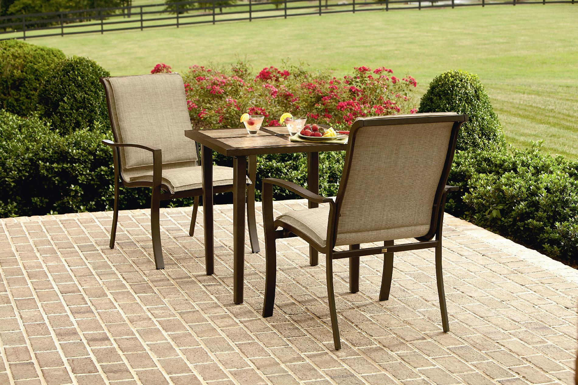 La-boy Lucas 3 Piece Bistro Set - Outdoor Living Patio