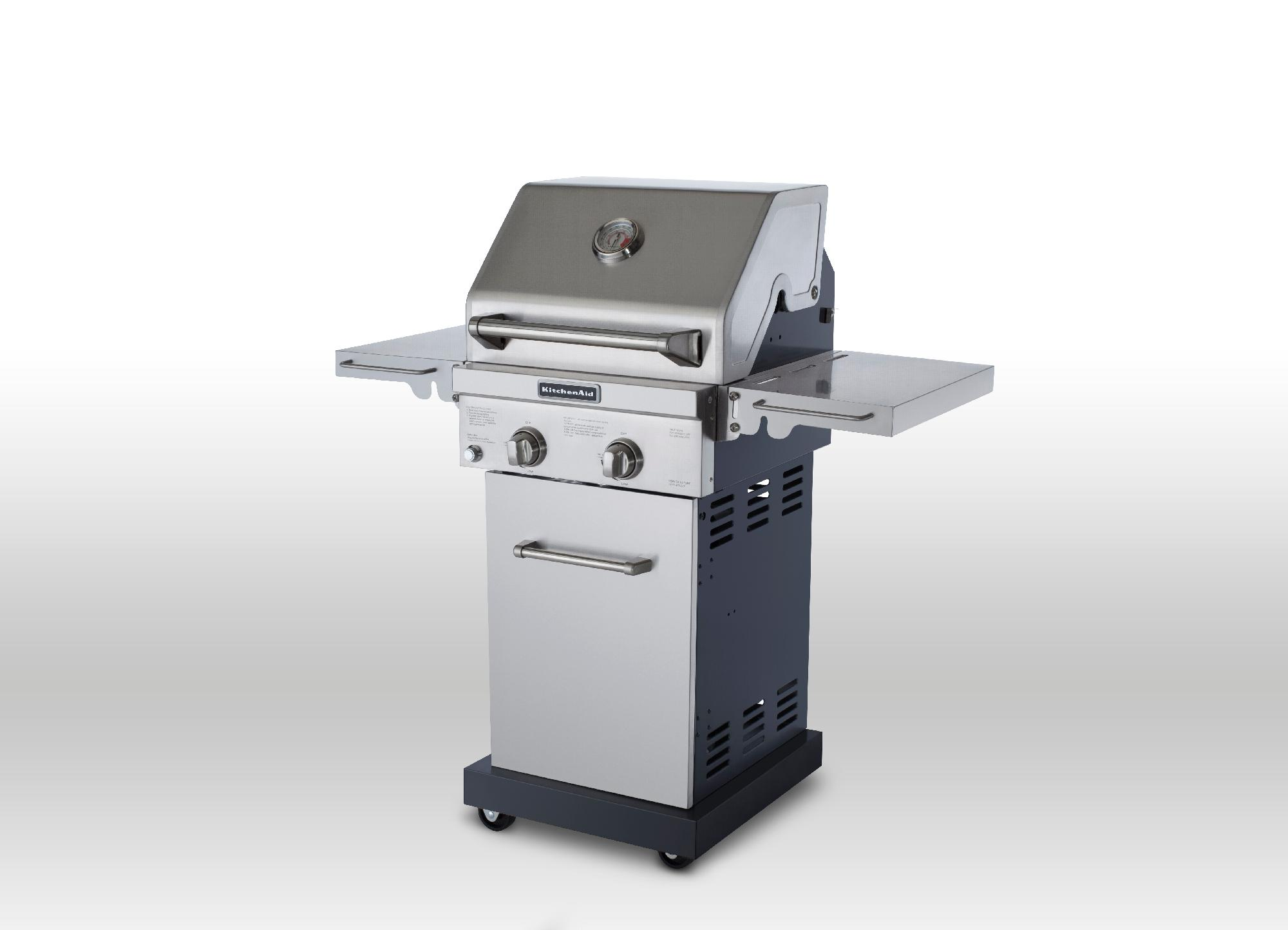 KitchenAid 2 Burner Gas Grill  Outdoor Living  Grills