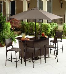 Garden Oasis - Ss-139nbset Harrison 5 Piece Bar Set