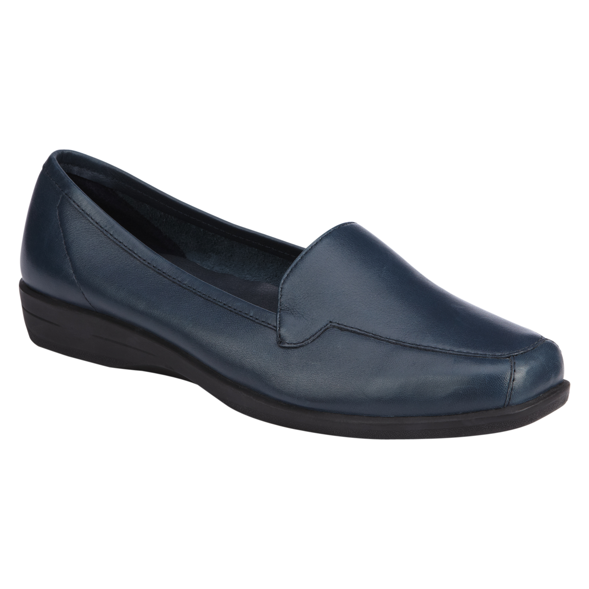 I Love Comfort Womens Casual Moccasin Gem Navy