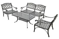 Cast Aluminum Powder Coated Outdoor Furniture