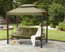 Garden Oasis 3-person Gazebo Swing Limited Availability