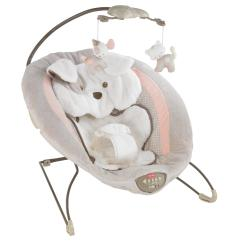 Calming Vibrations Baby Chair Tall Drafting Table Fisher Price My Little Snugapuppy Deluxe Plush Bouncer